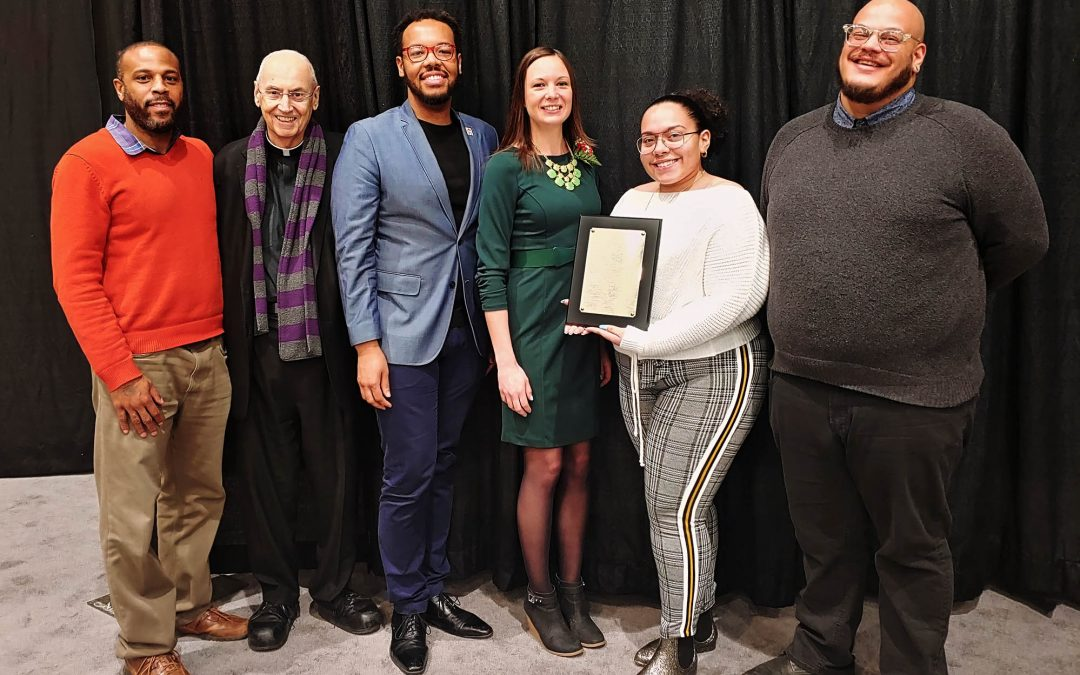 Niagara Falls Underground Railroad Heritage Center wins  2020 JUST COMMUNITIES of WNY  ORGANIZATION Award
